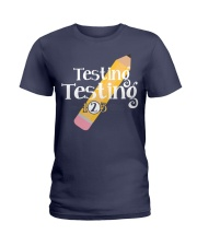 Testing Testing 123 Ladies T-Shirt thumbnail