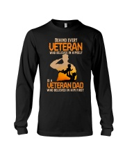 Veteran Dad Long Sleeve Tee front