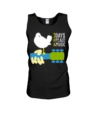 3days of peace and music Unisex Tank tile