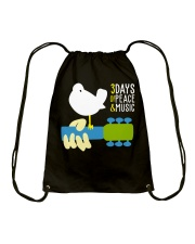 3days of peace and music Drawstring Bag thumbnail