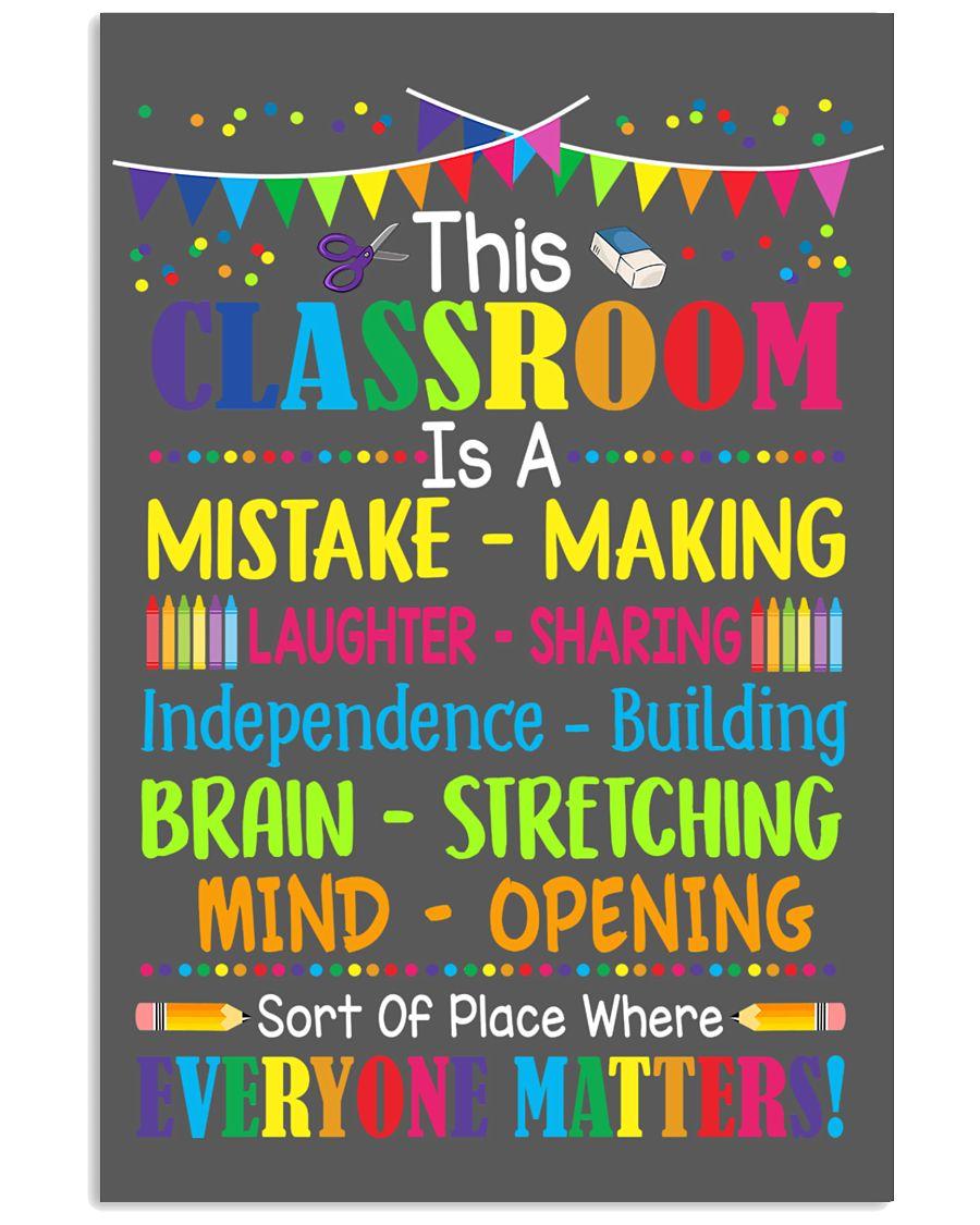 Teacher Poster 24x36 Poster