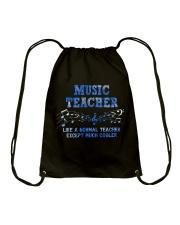 Music Teacher Drawstring Bag thumbnail