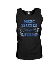Music Teacher Unisex Tank thumbnail