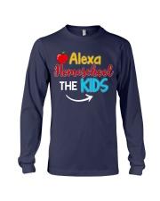 Alexa Homeschool the KIDS Long Sleeve Tee thumbnail