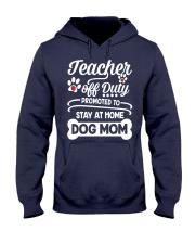 Teacher off Duty Hooded Sweatshirt thumbnail