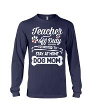 Teacher off Duty Long Sleeve Tee thumbnail