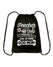 Teacher off Duty Drawstring Bag thumbnail