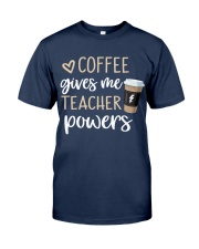 Coffee Gives Me Teacher Powers Classic T-Shirt tile