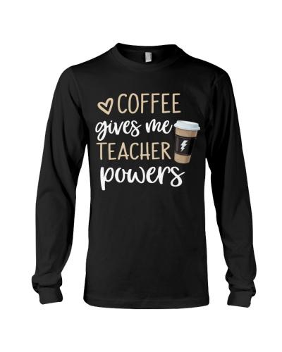 Coffee Gives Me Teacher Powers