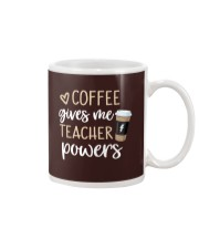 Coffee Gives Me Teacher Powers Mug thumbnail