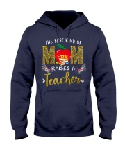 The best kind Of Mom - Teacher Hooded Sweatshirt thumbnail