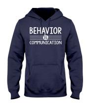BEHAVIOR IS COMMUNICATION Hooded Sweatshirt thumbnail