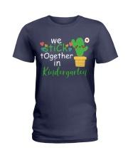 We Stick together in Kindergarten Ladies T-Shirt thumbnail