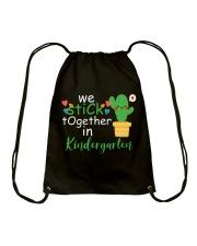 We Stick together in Kindergarten Drawstring Bag thumbnail