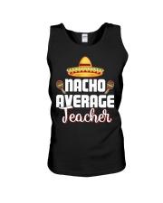 Nacho Average Teacher Unisex Tank thumbnail