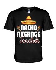Nacho Average Teacher V-Neck T-Shirt thumbnail