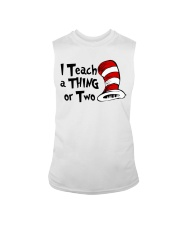 I Teach a Thing or Two Sleeveless Tee thumbnail