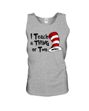 I Teach a Thing or Two Unisex Tank thumbnail