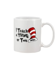 I Teach a Thing or Two Mug tile