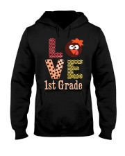 1ST GRADE LOVE Hooded Sweatshirt tile