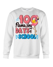 100 FLAMAZING DAYS OF SCHOOL Crewneck Sweatshirt thumbnail