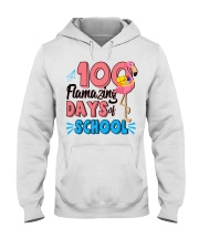 100 FLAMAZING DAYS OF SCHOOL Hooded Sweatshirt thumbnail