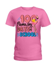 100 FLAMAZING DAYS OF SCHOOL Ladies T-Shirt thumbnail