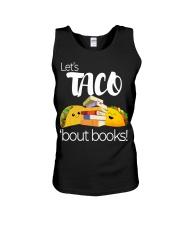 LET'S TACO 'BOUT BOOKS Unisex Tank thumbnail