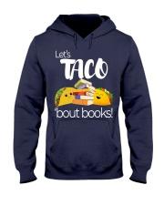 LET'S TACO 'BOUT BOOKS Hooded Sweatshirt thumbnail