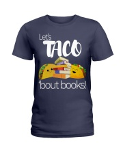 LET'S TACO 'BOUT BOOKS Ladies T-Shirt thumbnail