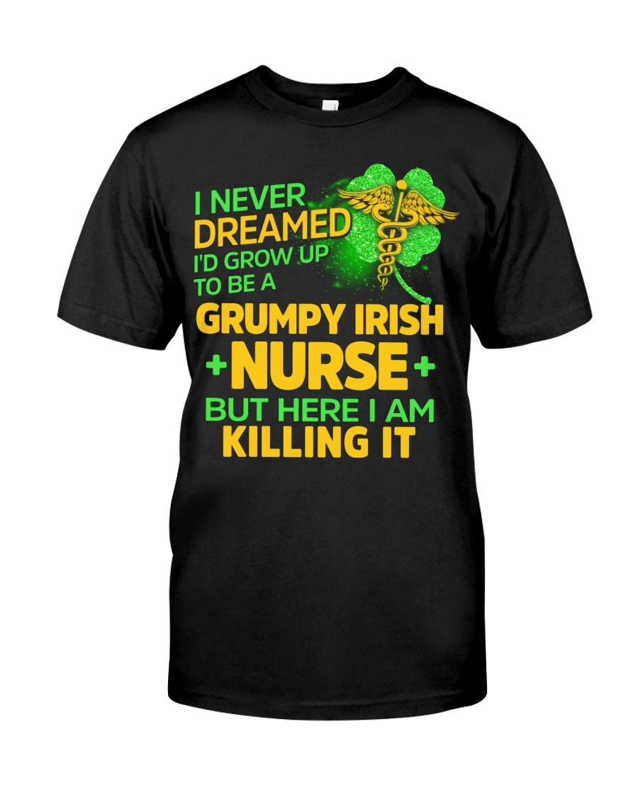 Grumpy Irish Nurse Classic T-Shirt