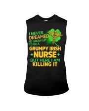 Grumpy Irish Nurse Sleeveless Tee thumbnail