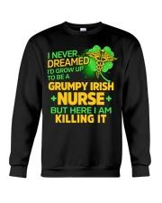 Grumpy Irish Nurse Crewneck Sweatshirt thumbnail