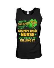 Grumpy Irish Nurse Unisex Tank thumbnail