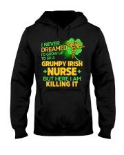 Grumpy Irish Nurse Hooded Sweatshirt thumbnail