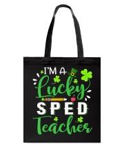 I'm a lucky SPED Teacher Tote Bag thumbnail