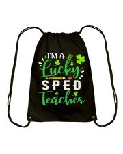 I'm a lucky SPED Teacher Drawstring Bag thumbnail