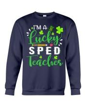 I'm a lucky SPED Teacher Crewneck Sweatshirt thumbnail