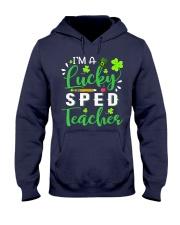 I'm a lucky SPED Teacher Hooded Sweatshirt thumbnail