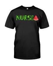 Nurse Watermelon Classic T-Shirt thumbnail
