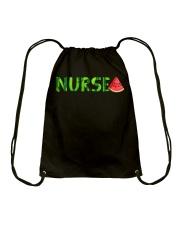Nurse Watermelon Drawstring Bag thumbnail
