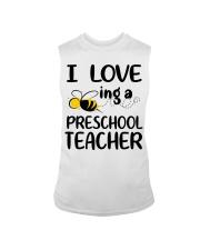 I Love being a preschool Teacher Sleeveless Tee thumbnail