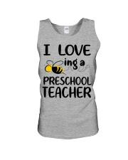 I Love being a preschool Teacher Unisex Tank thumbnail