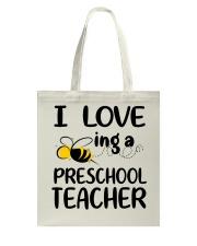 I Love being a preschool Teacher Tote Bag thumbnail