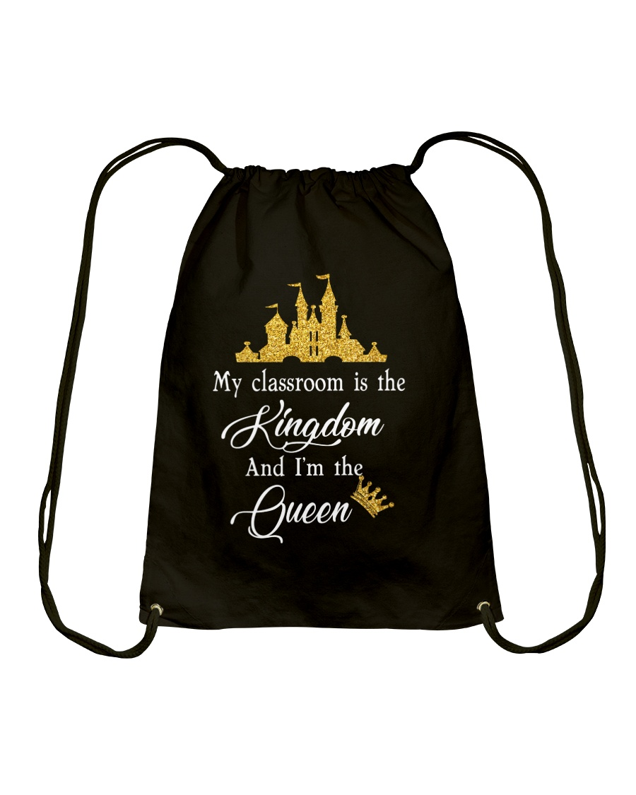 My class is the kingdom Drawstring Bag