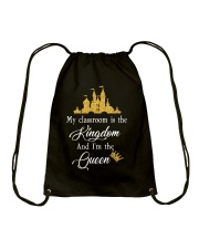 My class is the kingdom Drawstring Bag tile