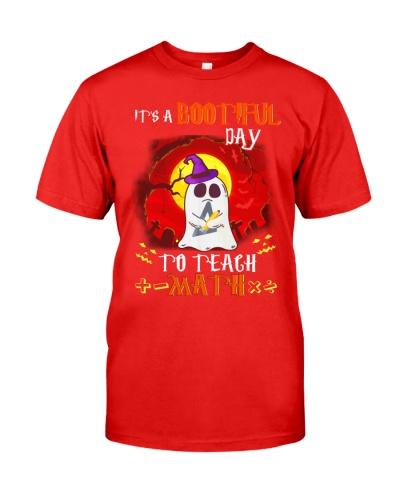 Bootiful Day To Teach Math