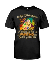 Art Painting Classic T-Shirt front