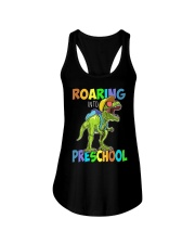 Preschool roaring Ladies Flowy Tank thumbnail