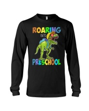 Preschool roaring Long Sleeve Tee tile